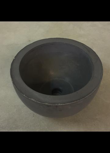 Betoniset Malja allas 35cm pieni musta – LVI verkkokauppa fi