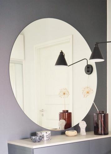 Essis Collection By Lasilinkki Pyöreä peili iso kirkas