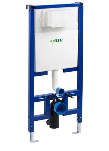 Fluidmaster Liv FIX-540 ohut asennuselementti