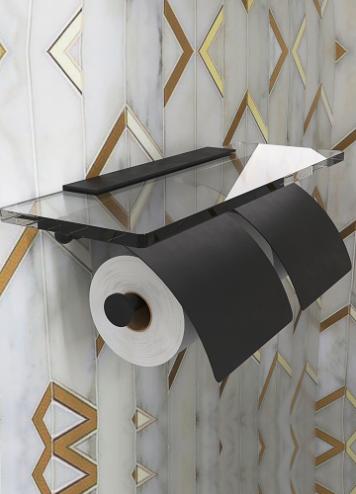 Hietakari-Sandriff Tresor Wc-paperiteline Musta