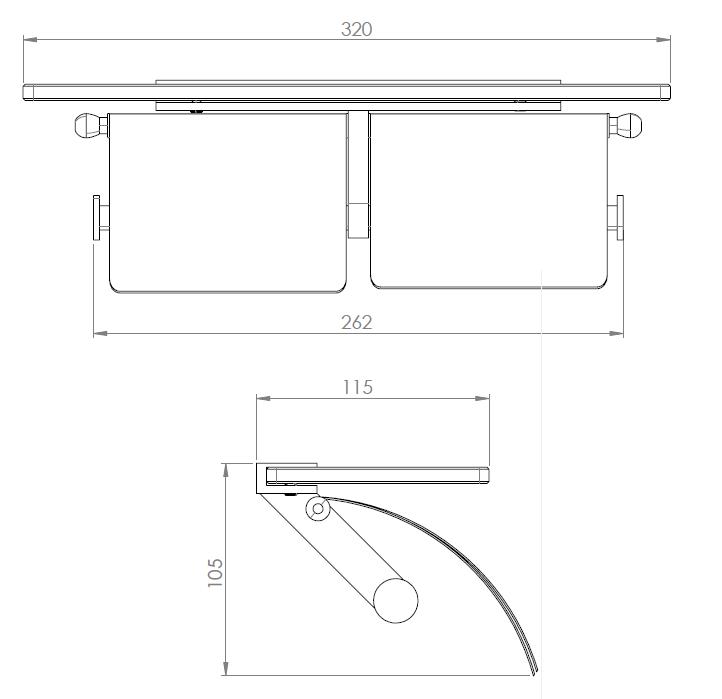 Hietakari-Sandriff Tresor Wcpaperiteline mittakuva
