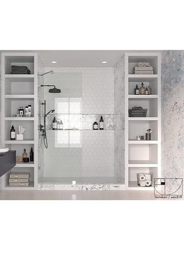 Hietakari - Sandriff Vetro 511 Kiinteä suihkuseinä inspiration