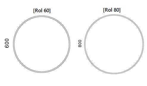 Otsoson Rol 60 - 80 mittakuva
