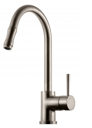 Tapwell EVO-185 Keittiöhana Brushed Nickel
