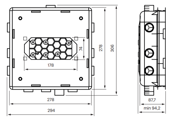 Tapwell T Box Small 2.0 Mittakuva