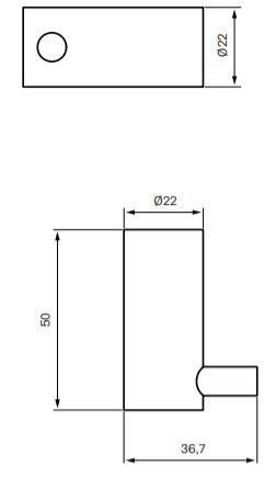 Tapwell TA242 Pyyhekoukku mittakuva (muunnelmatuote)