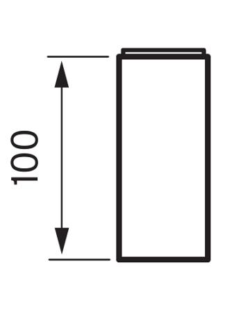 Tapwell XPRO 200 Korokepala Mittakuva
