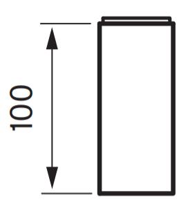 Tapwell Xpro200 Korokepala mittakuva (muunnelmatuote)