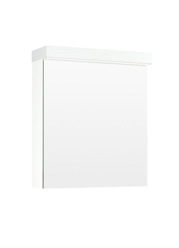 Temal Ecolight 1-ovinen Peilikaappi 40-60 cm valkoinen