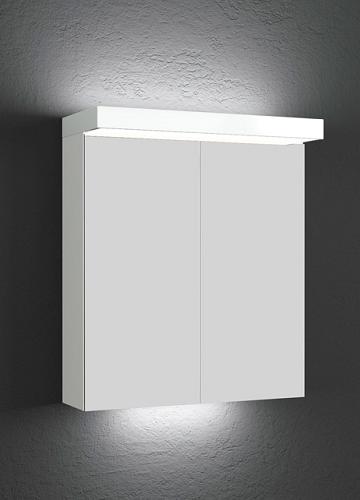Temal Ecolight 2-ovinen Peilikaappi 50-100 cm valkoinen inspiration