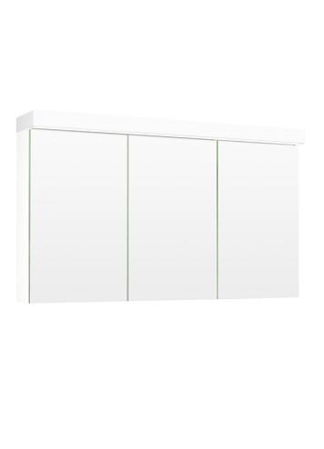 Temal Ecolight 3_ovinen Peilikaappi 110-120 cm valkoinen