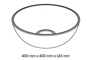 Woodio Malja-Allas Soft 40 mittakuva